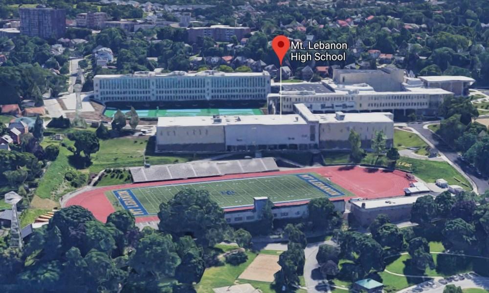 Mt. Lebanon High School (Photo: Google Earth)