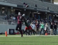 VIDEO: The Opening Regionals faceoff between WR Demond Demas and DB Faizal Akinlusi was epic