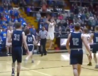 VIDEO: Indiana high school sophomore Zane Burke drills crazy desperation turnaround
