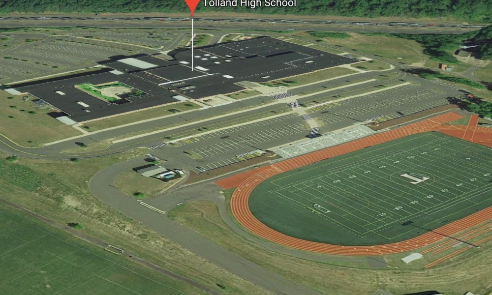 Tolland High School (Photo: Google Earth)