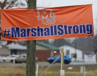 Marshall County HS shooting victims receive Comeback Athlete of the Year award
