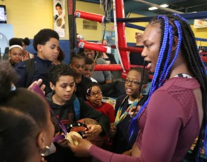 Claressa Shields wants to lift women's boxing into mainstream