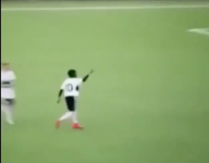 VIDEO: 12-year-old scores goal, celebrates with immaculate 'Bust Down' moves