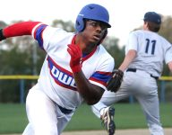 Will LSU football signee Maurice Hampton go in first round of MLB Draft?