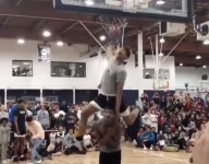 VIDEO: Top freshman PG Dior Johnson throws down incredible dunk during Oakland Soliders practice