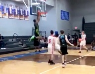 Nashville 8th grader Isaiah West showcases terrific feel for game, hops on wild alley oop dunk