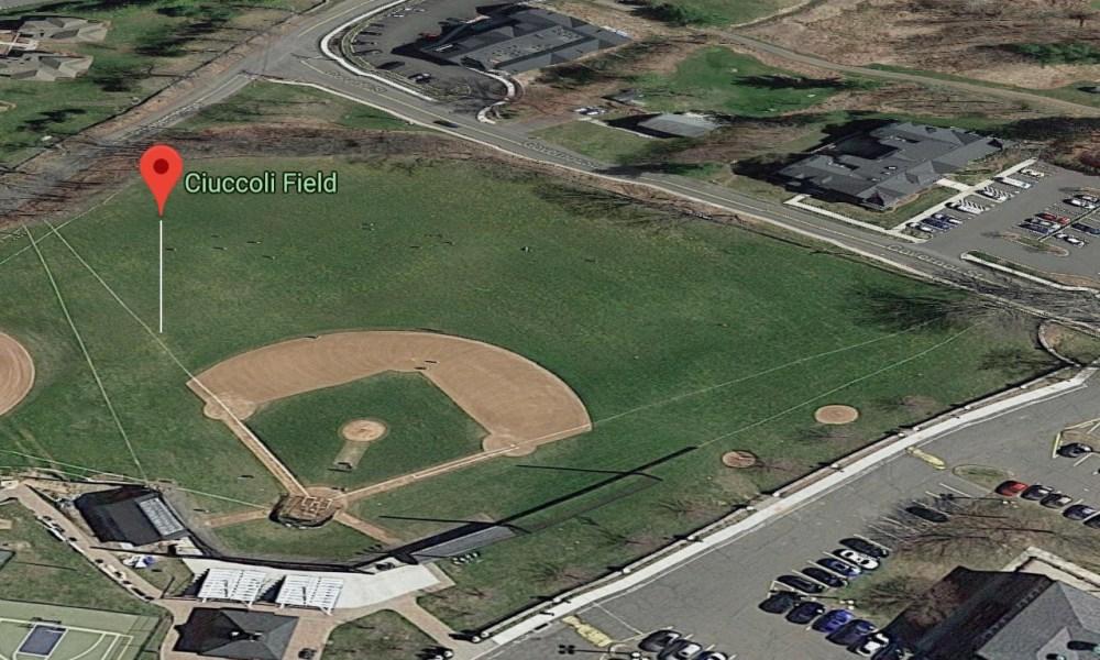 Ciuccoli Field in Ridgefield, Conn. (Photo: Google Earth)