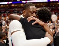 Dwyane Wade's son, Florida high school PG Zaire Wade, had the perfect retirement tribute