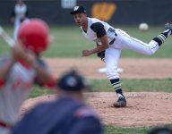 Indiana HS athlete returns to baseball field after breaking tibia, fibula in football season