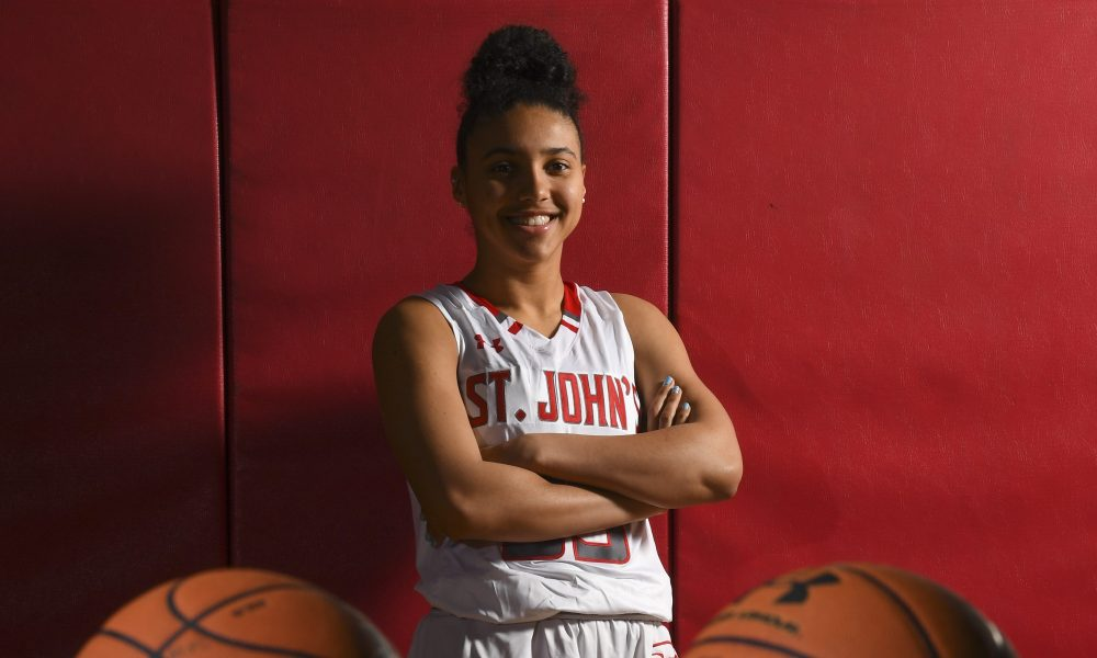 Azzi Fudd of St. John's College High School named to 2019 All-Name Team