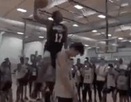 VIDEO: Truth Harris' wild dunk caps Under Armour Association tourney