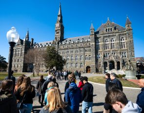Georgetown to expel student after he sues university over its handling of college admissions probe