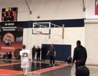 VIDEO: LeBron James had a mid-tourney shootaround with son's teammate Gabe Cupps