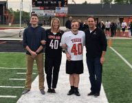 Ohio lacrosse player with Down syndrome scores on senior night