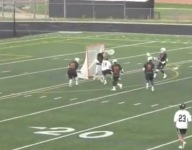 VIDEO: Full-field high school lacrosse goalie goal as good as you'll ever see