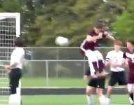 VIDEO: Iowa high school soccer player scores perfect goal ... with his butt