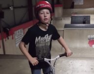 VIDEO: 11-year-old Charley Dyson among world's top pro scooter riders