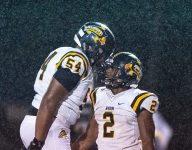 Sophomore Blake Fisher might be Avon's top football recruit ever