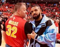 Nick Nurse's old teammate wore the coach's high school jersey on the NBA Finals sidelines, Drake took notice