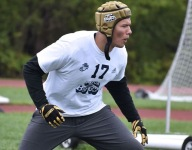 Big 33 Football All-Star LB plays days after capturing Penn. state track medals