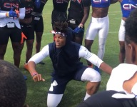 WATCH: Cam Newton coaches his 7v7 team at IMG, and things get lit