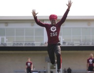 WATCH: Demond Demas, 5-star Texas A&M WR commit, catches ball mid-flip while wearing issa bonnet