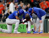 2-year-old hit by foul ball at Cubs-Astros game suffered skull fracture, seizure