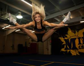 Estero (Florida) High cheerleader perseveres through sleep disorder to earn college scholarship