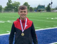 Meet King Combest, a track prodigy and son of one of Kentucky's all-time greats