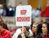 Idaho high school drops Redskins name after 4-hour school board debate, two walk-outs and community vitriol