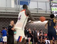 WATCH: 5-star C Makur Maker, Thon Maker's cousin, gets crafty with off-the-back self-assist off inbounds