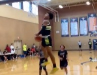 WATCH: 14-year-old high school basketball phenom Mikey Williams self-assists fast break dunk