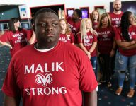 Cancer beaten, SC high school's Malik Stowers eager to tackle football again