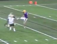 WATCH: Ohio sophomore Jordan Pettaway steals ball off foot on insane touchdown