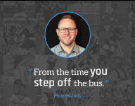 Recruiting Tip: From the time you step off the bus