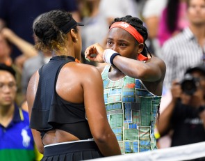VIDEO: Naomi Osaka comforts Coco Gauff after match in beautiful U.S. Open moment
