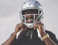 Antonio Brown's new helmet was unveiled at high school all-star bowl last season
