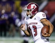 Ohio State commit Cameron Martinez leads Muskegon over Detroit King