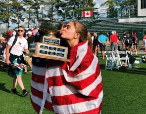 For Leah Holmes, a US lacrosse gold medal. For other Westchester natives, golden moments