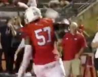 WATCH: Clemson commit Paul Tchio scores big man TD, celebrates in greatest, wildest way possible