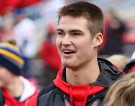 Wisconsin lands commitment from 2021 4-star OT Riley Mahlman after huge win against Michigan