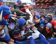 Bills Mafia inducts newest member with an adorable tiny table smash