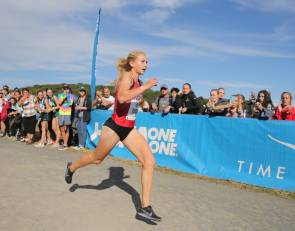Katelyn Tuohy wins Manhattan College X-C Invitational but disappointed in time