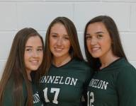 Triplets on New Jersey volleyball team rallying for cancer awareness