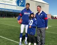 New York Giants' Eli Manning completes Morris County teen's wish