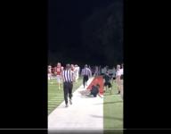 WATCH: Tennessee high school football coach goes viral for baseball slide to celebrate TD run
