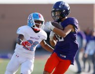 25! Texas high school football player breaks state record for receptions in game