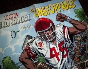 Blind Arizona football player Adonis Watt inspiration for Marvel comic