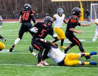Almont vs. Denby football state semifinal ends early due to personal fouls, confrontations with crowd follow