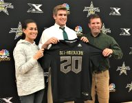 Chosen 25 TE Michael Mayer almost didn't play HS football; now he's an All-American